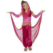 cowgirl halloween costume kids buy pink genie child costume