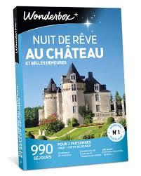 wonderbox telephone siege social coffret cadeau nuit de rêve au château et belles demeures wonderbox