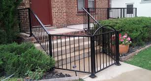 decor tips enchanting rod iron fence with chic ornament for how to