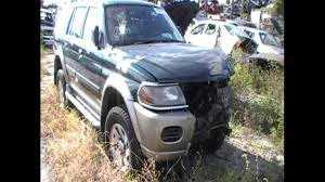 super sharp wrecked 2001 mitsubishi montero sport xls with 53 000