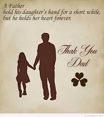 daughter quote for his father