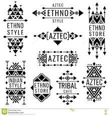 tribal mexican vector ornaments indian nativity traditional