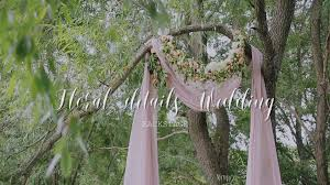 Wedding Archway Floral Details Wedding Arch Youtube