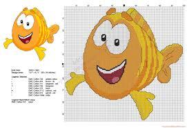 mr grouper from bubble guppies free cross stitch pattern free