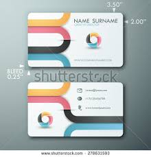Simple Business Cards Templates Modern Simple Light Business Card Template Stock Vector 157428182