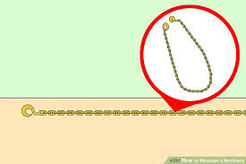 necklace length picture images How to measure a necklace 15 steps with pictures wikihow jpg
