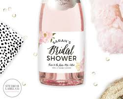 bridal shower favors bridal shower favors mini chagne bottle labels bridal