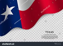 State Flag Of Texas Waving Flag Texas State Usa On Stock Vector 710367796 Shutterstock