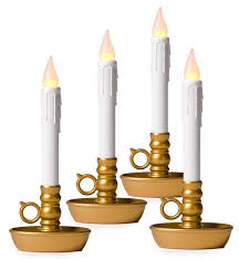 battery operated window lights window candle 4 pack holiday lighting plow hearth