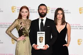 Eleanor Tomlinson British Academy Television Awards 2017 15 As It Happened The Bafta Television Awards 2016 Bbc News