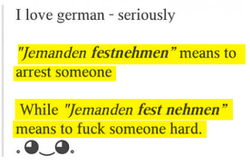 German Language Meme - 21 reasons german will always be the world s weirdest language
