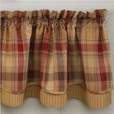 country layered valance curtains hearthside 72