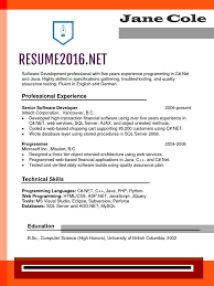 Reverse Chronological Resume Example by Chronological Resume Format 2016 What U0027s New U2022