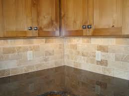 kitchen backsplash travertine home design