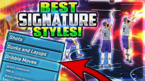 nba 2k18 best signature styles all the best dribble moves jump
