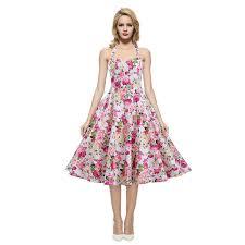 aliexpress com buy womens halter neck backless floral print