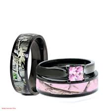 Camo Wedding Ring Sets by Elegant Black And Pink Wedding Ring Sets This Year Wedding