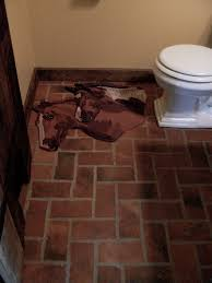 flooring stirring brick floor tile image concept laundry room