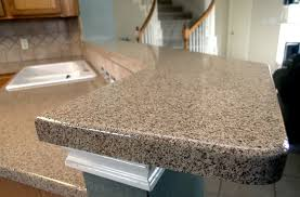 can you paint laminate countertops to look like concrete