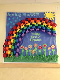 Spring bulletin board for kids
