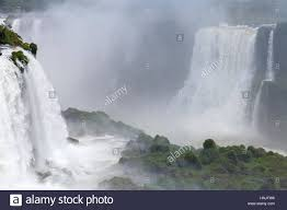 iguazu natural wonder of the world the majestic beauty the stock