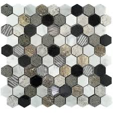 shop 11 1 4 x10 7 8 esker stratus hexagon honed chiseled