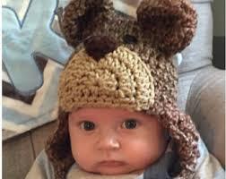 Brown Bear Halloween Costume Baby Bear Hat Kids Hats Kids Bear Costume Teddy Bear Hat
