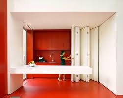 space saving kitchen furniture modern kitchen ideas kitchen with folding panel for space saving
