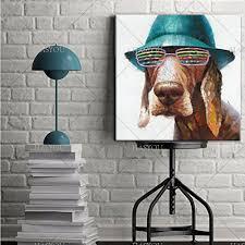 Wall Accessories Group Online Get Cheap Canvas Dog Wall Art Aliexpress Com Alibaba Group