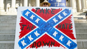 Dixi Flag Protesters Demand The Confederate Flag Be Taken Down Youtube