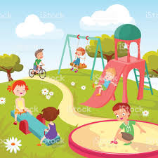 summer backgrounds for kids vector background blank with kids