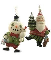 bethany lowe on sled vintage children ornament