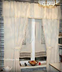 Curtains For The Kitchen Buy Linen Curtains For The Kitchen
