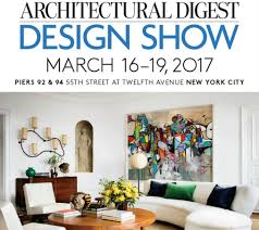 architectural digest home design show 16 19 march 2017 marretti