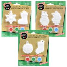 bulk crafter s square paint your own ornaments kits 2 ct packs at