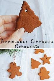 applesauce cinnamon ornaments png