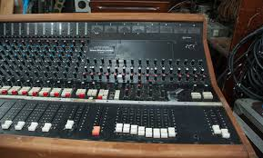 Studio Mixer Desk by Chilton Qm3 Mixing Console Funky Junk
