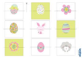 printable name place cards printable easter decorations supplies free templates