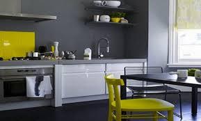 cuisine jaune et grise cuisine grise et jaune couleur pour cuisine tendance u ides de