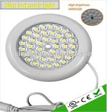 dimmable led puck lights ultra slim dimmable led puck light led cabinet light with ul buy