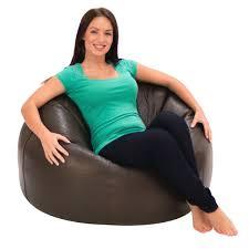 bean bag de sede style leather bean bag chair 1 giant leather