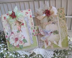 219 best shabby chic christmas cards images on pinterest
