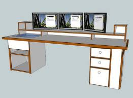 Computer Desk Plan Awesome Computer Desk Plans Computer Desk Plans Interiorvues