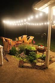 diy patio string lights