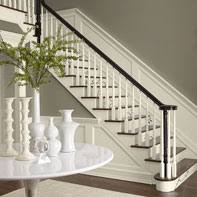 Banister Paint Ideas Neutral Entryway Ideas Sophisticated Neutral Entry Paint Color
