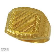 gold ring for men mens fancy ring 22 karat ajri54045 indian mens fancy ring