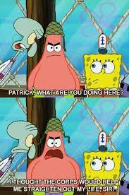 Spongebob Memes Patrick - hell yeah patrick marines love pinterest spongebob