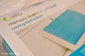 memory foam bed pillows comfort revolution hydraluxe cool cerulean bubbles pillow review