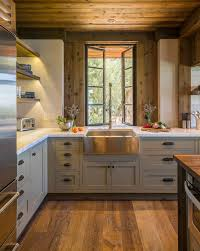 kraftmaid dakota cabinets kitchen rustic with wood ceiling top