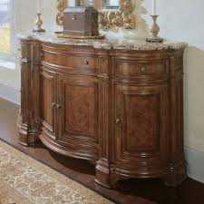 Credenzas And Buffets by Universal Furniture 409679 Credenza Marble Top Sideboard Villa